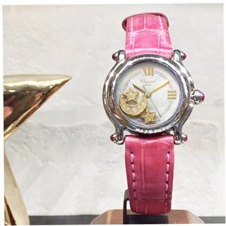 ショパール(Chopard)の美品✨ショパール ハッピースポーツ ダイヤ 腕時計レディース(腕時計)