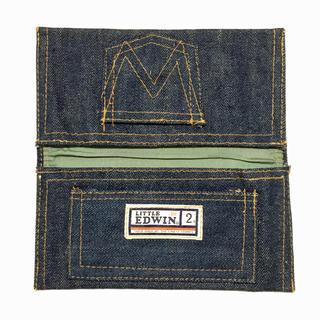 エドウィン(EDWIN)の70s LITTLE EDWIN ウォレット デッドストック デニム 財布(長財布)