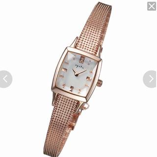 アガット(agete)のスクエアフェイスウォッチ(腕時計)