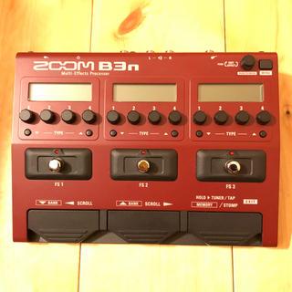 ズーム(Zoom)のZOOM  b3n  マルチエフェクター 中古(ベースエフェクター)