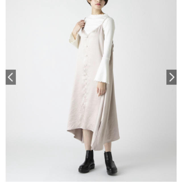 mystic(ミスティック)のmystic♡サテンキャミワンピ レディースのワンピース(ひざ丈ワンピース)の商品写真
