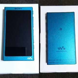 ウォークマン(WALKMAN)のWALKMAN NW-A35  16GB ビリジアンブルー(ポータブルプレーヤー)