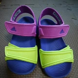 アディダス(adidas)のアディダスAdidasサンダル14男の子でも女の子でも☆(サンダル)