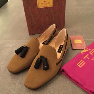 エトロ(ETRO)のあるふぁ様専用 新品正規品定価約エトロ ETRO 日本未入荷(ローファー/革靴)