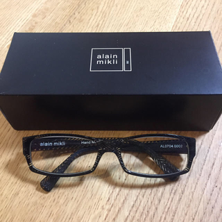 アランミクリ(alanmikli)のalain mikli メガネ 直営店購入 (サングラス/メガネ)