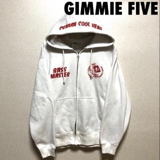 ギミファイブ(GIMME5)の4023 GIMMIE FIVE ギミーファイブ プリント パーカー(パーカー)