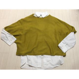 シマムラ(しまむら)のブラウス&ニット 2点セット(シャツ/ブラウス(半袖/袖なし))