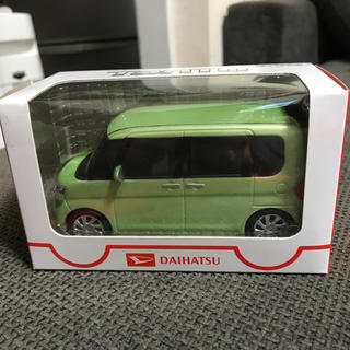 ダイハツ(ダイハツ)のダイハツ タント  プルバックカー  Tanto グリーン 黄緑色(ミニカー)