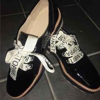 ザラ(ZARA)のZARA エナメルブルーチャー(ローファー/革靴)