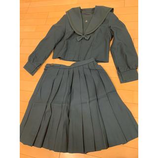 成田国際 緑セーラー 制服 冬服(衣装)
