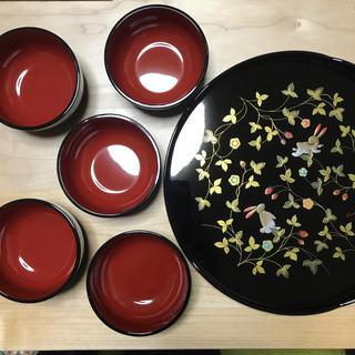カンサイヤマモト(Kansai Yamamoto)の山本寛斎 漆器 丸盆(漆芸)