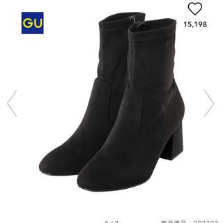 ジーユー(GU)のGU スエードタッチストレッチブーツ(ブーツ)