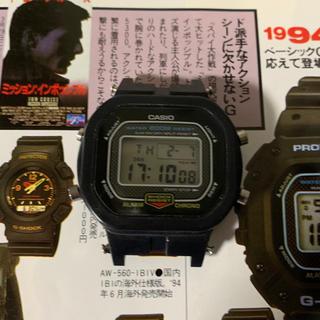 ジーショック(G-SHOCK)のCASIO G-SHOCK DW-5300-1AV ミッション・インポッシブル(腕時計(デジタル))