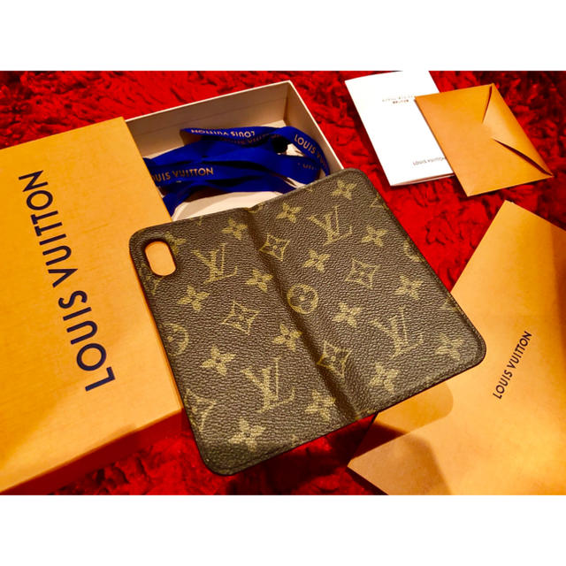 LOUIS VUITTON - LOUIS VUITTON iPhone X ケース 正規品 手帳 ヴィトンの通販 by LV(プロフ確認後の購入お願いします)|ルイヴィトンならラクマ