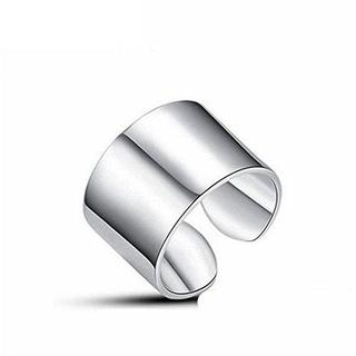 マルタンマルジェラ(Maison Martin Margiela)のTICENTRAL ステンレス リング 関節リング 幅1.4cm ワイド 指輪 (リング(指輪))