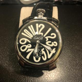 ガガミラノ(GaGa MILANO)のガガミラノ時計(レザーベルト)