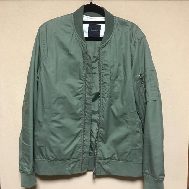 RAGEBLUE(レイジブルー)の最終値下げ RAGEBLUE MA-1 ブルゾン カーキー ミリタリー メンズのジャケット/アウター(ミリタリージャケット)の商品写真