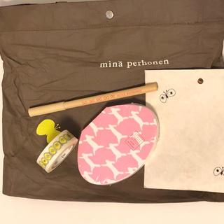 ミナペルホネン(mina perhonen)のミナペルホネン  ノート & ボールペン セット(ノート/メモ帳/ふせん)