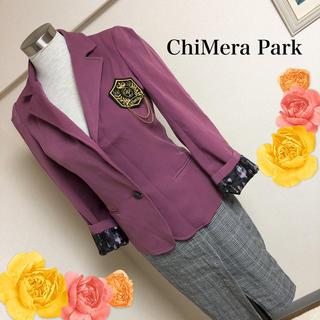 キメラパーク(ChiMera park)のキメラパークのワッペン付ジャケット◆Mサイズ(テーラードジャケット)