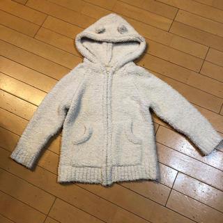 ジーユー(GU)のGU大型店店舗限定 もこもこフィールラウンジパーカ(長袖)130(パジャマ)