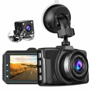 人気♡2019年の最新版/前後カメラchortauドライブレコーダー 2カメラ (セキュリティ)