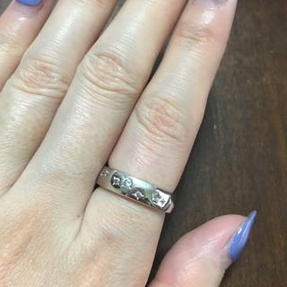 アガタ(AGATHA)のAgatha 10号 スワロフスキーリング シルバー (リング(指輪))
