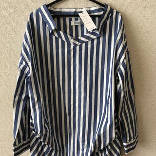 オールオーディナリーズ(ALL ORDINARIES)のストライプシャツ(シャツ/ブラウス(長袖/七分))