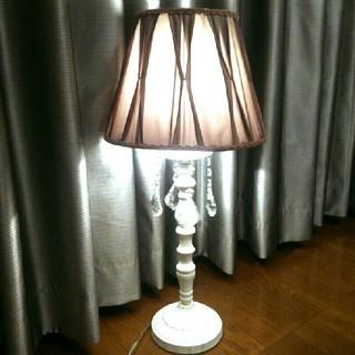 MU-RA〈ムーラ〉💕アンティーク シェード テーブルランプ 1灯💕(テーブルスタンド)