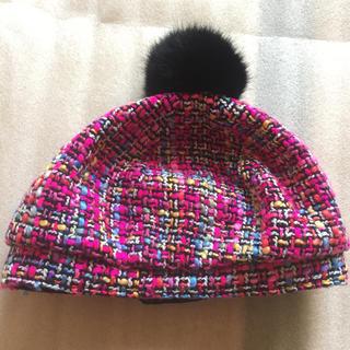 ツイード帽子