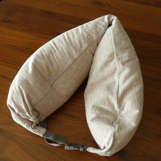 ムジルシリョウヒン(MUJI (無印良品))の無印良品 ネックピロー カバー付 首 枕 ネック クッション(旅行用品)