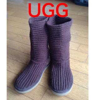 アグ(UGG)のUGG ニットブーツ(ブーツ)
