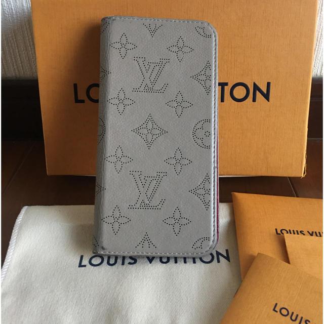 LOUIS VUITTON - ルイヴィトン iPhone7plus/8plus スマホケース マヒナの通販 by pinkinko|ルイヴィトンならラクマ