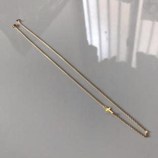 オーロラグラン(AURORA GRAN)のAURORA GRAN サイド クロスネックレス(ネックレス)