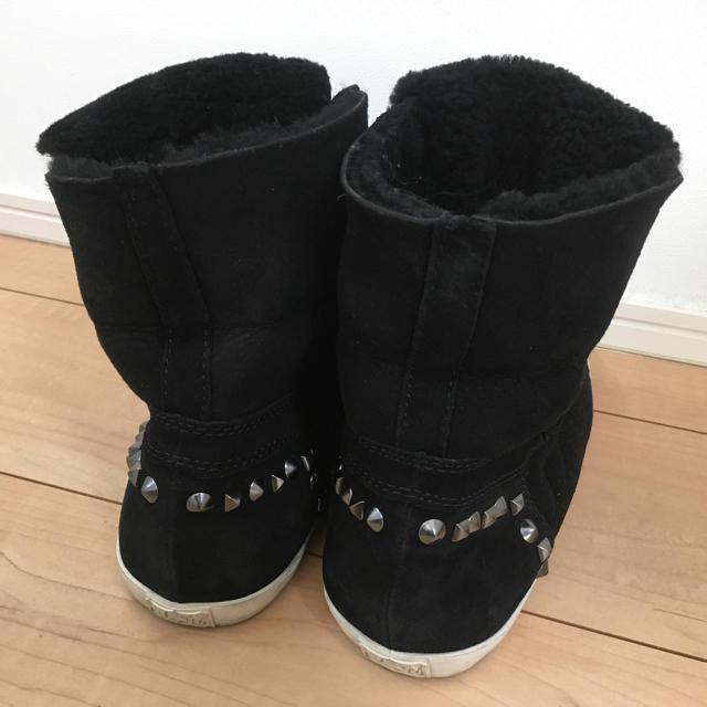 ASH(アッシュ)の★最終値下げ★ASH アッシュ ボア スタッズ ブーツ  39 レディースの靴/シューズ(ブーツ)の商品写真