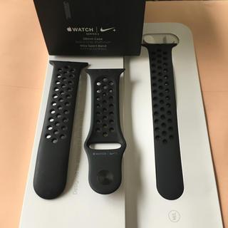 アップルウォッチ(Apple Watch)のApple Watch ナイキスポーツバンド(純正)(ラバーベルト)