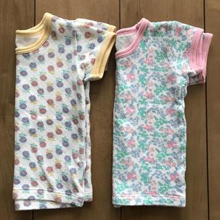 シマムラ(しまむら)の半袖80サイズ 2枚組(Tシャツ)