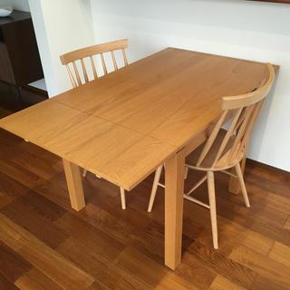 ウニコ(unico)の【unico】ダイニングテーブルセット(ダイニングテーブル)