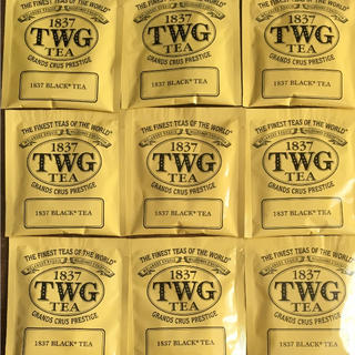 ※woo様専用※  1837 TWG BLACK TEA アールグレー  18袋(茶)