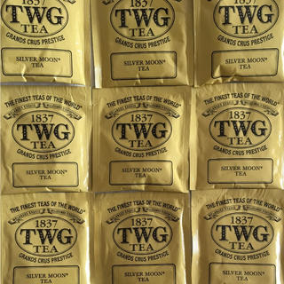 ※schi様専用※ 1837 TWG SILVER MOON TEA  9袋(茶)