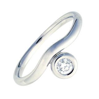 ティファニー(Tiffany & Co.)のティファニー リング カーブド バイザヤード ダイヤ プラチナ 100823(リング(指輪))