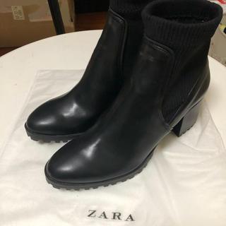 ザラ(ZARA)のZARA ヒールブーツ(ブーツ)