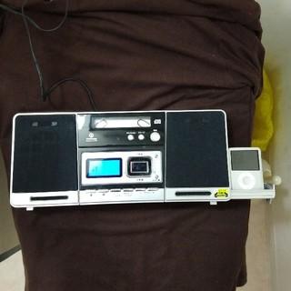 SoundLock ipod ドック付 CDシステム(ラジオ)