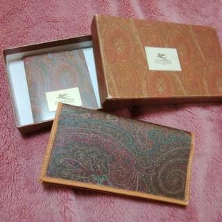 エトロ(ETRO)のエトロ ペイズリー柄のお札、カード入れ 財布(財布)