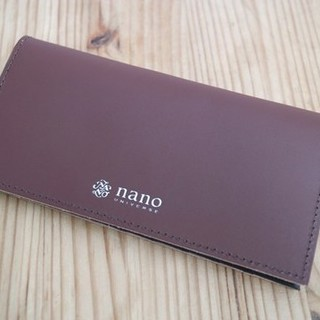 ナノユニバース(nano・universe)の[☆☆☆様専用]モノマックス 付録 ナノ・ユニバース 本革札入れ(長財布)