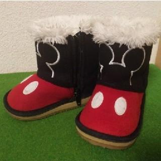 ディズニー(Disney)のキッズ ミッキーブーツ サイズ13cm(ブーツ)