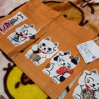 のれん 七福ねこ #猫 #縁起物(のれん)