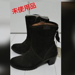 エーグル(AIGLE)の新品 タグ付き AIGLE ブーツ スエード 24㎝ ブラウン 茶 エーグル(ブーツ)
