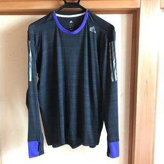 アディダス(adidas)のアディダス クライマクール ロング Tシャツ (ウェア)