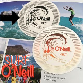 オニール(O'NEILL)のO'NEILLオニールUS限定oldskoolデザインカラーサークルステッカーB(サーフィン)