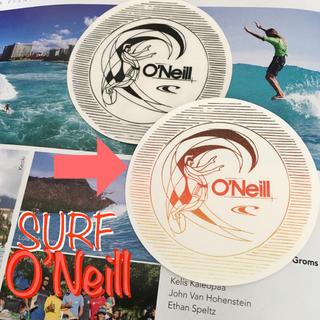 オニール(O'NEILL)のO'NEILLオニールUS限定oldskoolデザインカラーサークルステッカーC(サーフィン)